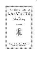 The Boys  Life of Lafayette Book PDF