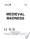 Medieval Madness Pinball Operations Manual