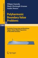 Polyharmonic Boundary Value Problems