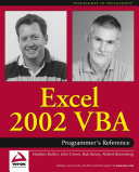 Excel 2002 VBA