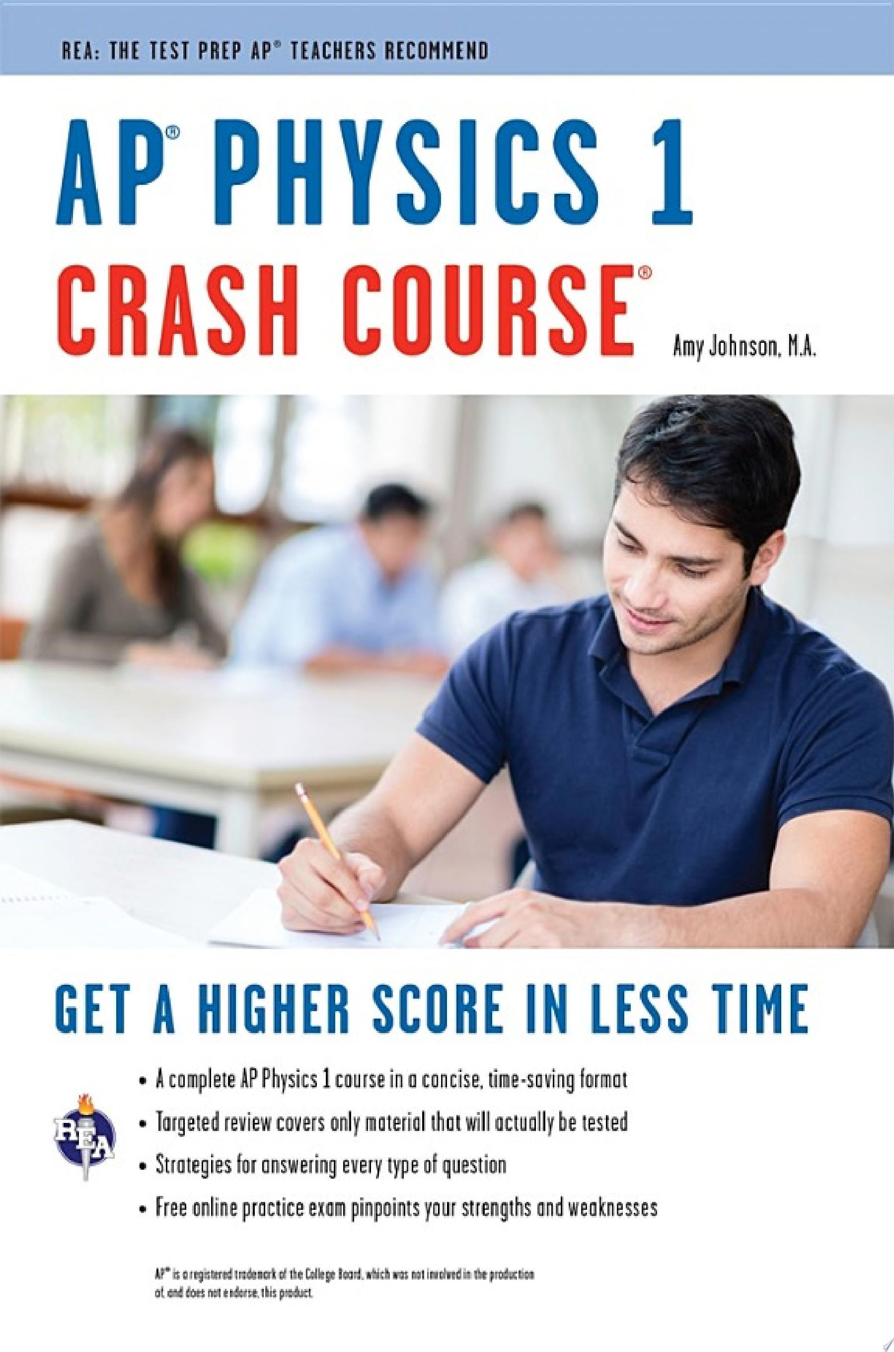 AP   Physics 1 Crash Course Book   Online