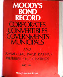 Moody's Bond Record