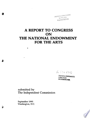 A+Report+to+Congress+on+the+National+Endowment+for+the+Arts