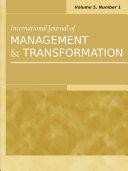 Pdf International Journal of Management and Transformation: Vol.5, No.1