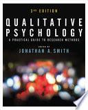 Qualitative Psychology PDF