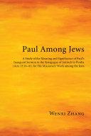 Paul Among Jews