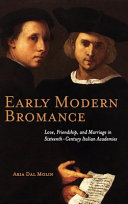 Early Modern Bromance