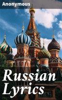 Russian Lyrics Pdf/ePub eBook