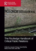 The Routledge Handbook of Critical Public Relations