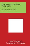 The Novels of Ivan Turgenev Pdf/ePub eBook
