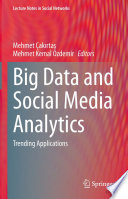 Big Data and Social Media Analytics Book
