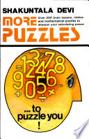 """More Puzzles"" by Shakuntala Devi"