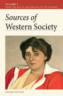 Sources of Western Society  Volume 2 Book