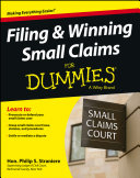 Filing and Winning Small Claims For Dummies [Pdf/ePub] eBook