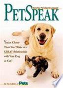 PetSpeak Book