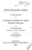 The Anti spelling Book Book