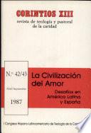 Civilizacin del amor (desafos en Amrica Latina y Espaa) , La