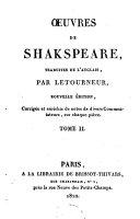 Oeuvres de Shakespeare ebook