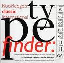 Rookledge s Classic International Typefinder