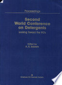 Second World Conference on Detergents Book