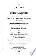 "The Letters of Daniel Hardcastle to the Editor of ""the Times"" ... on the Subject of the Bank Restriction, the Regulations of the Mint, Etc. With Notes and Additions by R. Page"