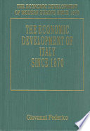 The Economic Development of Italy Since 1870
