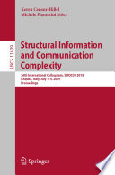 Structural Information and Communication Complexity Book