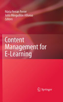 Content Management for E-Learning [Pdf/ePub] eBook