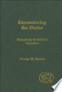 Encountering The Divine Book PDF