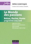 Pdf Le monde des passions prépas scientifiques programme 2015-2016 Telecharger