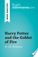 Harry Potter And The Goblet Of Fire By J.k. Rowling (book ...