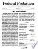 Federal Probation Book