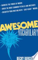 Awesome Vocabulary Book PDF
