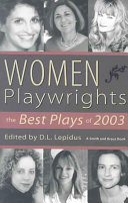 Pdf Women Playwrights