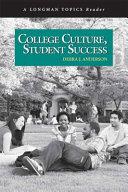 College Culture Student Success Book PDF