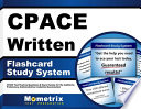 Cpace Written Study System  : Cpace Test Practice Questions and Exam Review for the California Preliminary Administrative Credential Examination