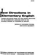 New Directions in Elementary English