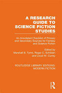 A Research Guide to Science Fiction Studies