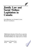 Family Law and Social Welfare Legislation in Canada