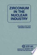 Zirconium In The Nuclear Industry Book PDF