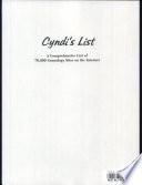 Cyndi S List