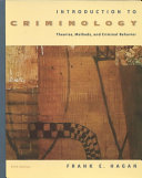 Introduction to Criminology Book