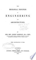 The Mechanical Principles of Engineering and Architecture Book