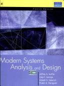 Modern Systems Analysis And Design Hoffer Google Books