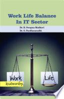 A Handbook on Work life Balance in IT Sector