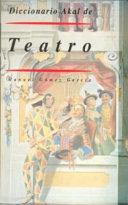 Diccionario Akal de Teatro