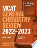 MCAT General Chemistry Review 2022 2023