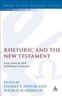 Rhetoric and the New Testament