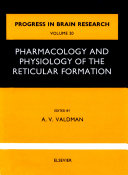 Pharmacology and physiology of thereticular Formation Pdf/ePub eBook