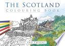 The Scotland Colouring Book